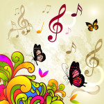 butterfly-music-vector
